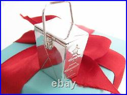 Tiffany & Co Silver Chinese Takeout Pagoda Pill Box Holder