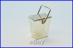 Tiffany & Co. Sterling Silver Chinese Take Out Pill Box