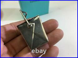 VTG Tiffany & Co Infinity Sterling Silver Chinese Pagoda Take Out Pill Box DS63
