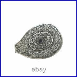 Victorian Chinese Silver Cowrie Snuff Box Circa 1880