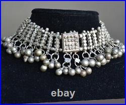 Yemenite necklace, ethnic silver necklace, Yemen tribal necklace (Y36)